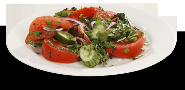 Салат по-грузински из бакинских овощей