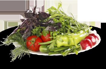 Овощной букет Бакинский